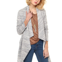 BB Dakota Davis Marled Knit Jacket