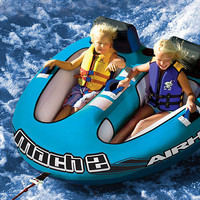 Mach 2 Two-Seat Towable Tube & Rope Set | zulily