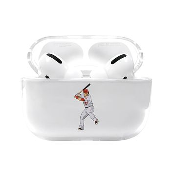 Mike Trout Angels Airpods Pro Case