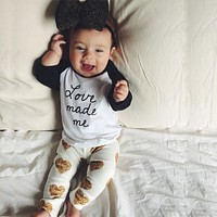 2016 new style Baby Girl Romper Baby Clothing Sets Newborn baby Girl clothes set Jumpsuits newborn clothes Infant clothing