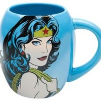 Wonder Woman 18oz Ceramic Oval Mug