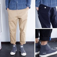 Winter Casual With Pocket Pants [6544955395]