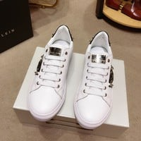 PhiliPP Plein Men Casual Shoes Boots fashionable casual leather