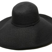 Belladonna Straw Hat, Black