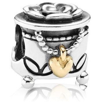 Authentic Pandora Jewelry - PANDORA's Box w-14K