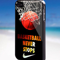 Never Stop Nike Basketball - For iPhone, Samsung Galaxy, and iPod. Please choose the option