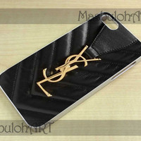 Ysl yves saint laurent logo Bag - Samsung Galaxy S3 i9300, S4 i9500 and iPhone Case 4/4S, 5/5S, 5C