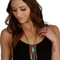 Sale-the Breath Of Life Boho Necklace