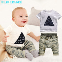 baby Boys Summer Clothing SetscBoys Brand Clothing Set Kid Apparel T-shirt+Shorts