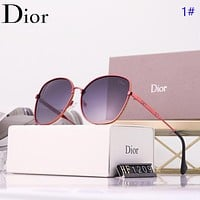 Dior New fashion polarized sun protection glasses eyeglasses women 1#