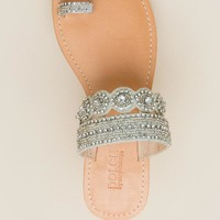 Captiva Rhinestone Toe Ring Sandal