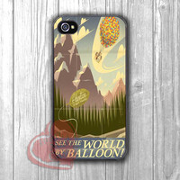 disney up pixar-NY for iPhone 6S case, iPhone 5s case, iPhone 6 case, iPhone 4S, Samsung S6 Edge