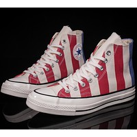 CONVERSE black high classic men and women leisure shoes