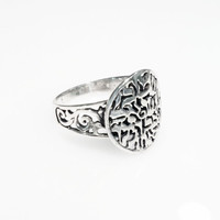 Sterling Silver Shema Israel Ring Jewish Prayer Ring by TANSO