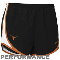Nike Texas Longhorns Women's Tempo Performance Training Shorts - Black