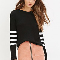 Boxy Stripe Sweater