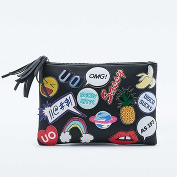 Skinnydip X UO Sticker Make-Up Bag - Urban Outfitters