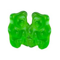Gummi Bears Green Apple Bulk 1/2 lb
