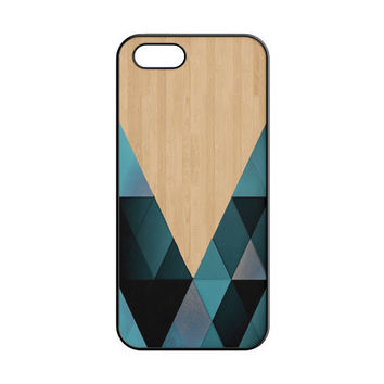 wooden geometric iPhone 4 | 4S Case