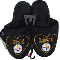 Pittsburgh Steelers Official NFL Women's Love Slipper