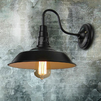 Retro Loft American Country Cafe Wall Lamp