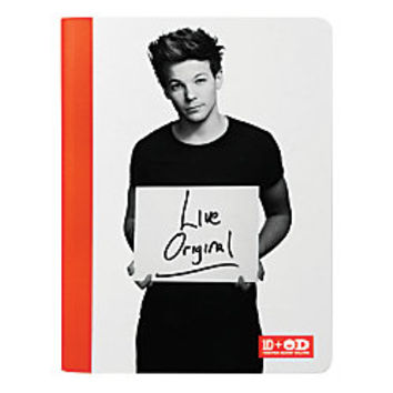 One Direction Limited Edition 1D OD Together Composition Book Louis Original Orange by Office Depot
