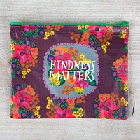 Recycled Zip Pouch Kindness Matters