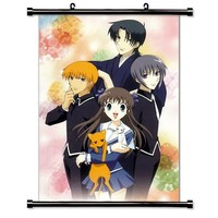 "Fruits Basket Anime Fabric Wall Scroll Poster (16"" X 22"") Inches"