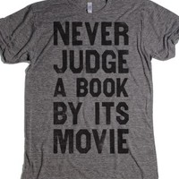 Athletic Grey T-Shirt | Gifts For Book Lovers
