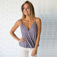 Best Of Friends Lilac Tank Blouse