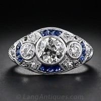 Womens Antique Reproduction Jewelry Ring - Free Shipping from  USA