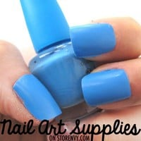 nailartsupplies |  Baby Baby Blue Nail Polish Mini Teaser Size 8ml | Online Store Powered by Storenvy