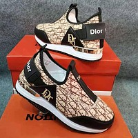 Dior Low-Top Women's Casual Sneakers Shoes #3