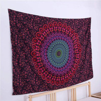 Boho Tapestry Love Stretches Printed Hanging Wall Tapestries Indian Home Decor 140x210cm 1Pc Factory Direct
