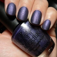 OPI Suede Collection Nail Polish, OPI Ink (Suede)