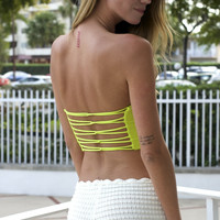 String Bandeau Top (more colors)- FINAL SALE