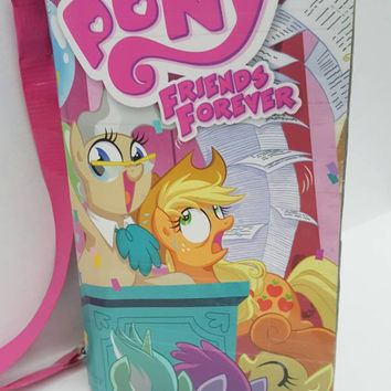 My Little Pony Comic Book Purse - Handbag - Shoulder Bag - Duct Tape Purse