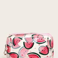 Watermelon Pattern Waterproof Makeup Bag