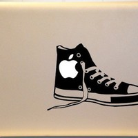 Old School Shoe Macbook Decal Vinyl Sticker for Mac Laptop | KrazyKutz - Housewares on ArtFire
