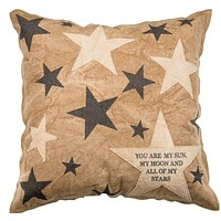 You Are My Sun Moon and Stars | Throw Pillow | 20x20 | Home Decor | Cabin Decor Ideas | Lake House | Lake House Decor | Coastal Pillow