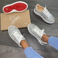 Christian Louboutin 2021 Fashionable leisure shoes