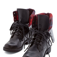 ModCloth Urban Pros and Concert Boot