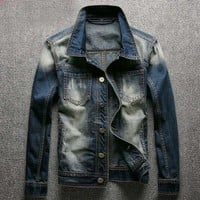 Denim Jacket Mens Jean Jacket
