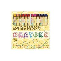 24 Natural Beeswax Crayons PEN
