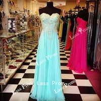 Sweetheart embroidery  prom dress  Sexy Dress Evening Dress  Bridesmaid Dress 2014 Hot Selling party dress
