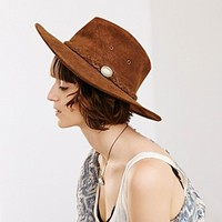 Suede Panama Hat - Urban Outfitters