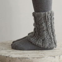 Knitted Leg Warmers for Girls (various color)