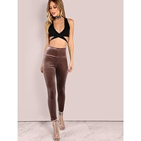 Velvet Leggings MOCHA
