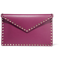 Valentino - The Rockstud leather pouch