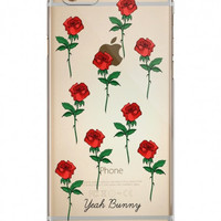 iPhone 7 Case in Red roses